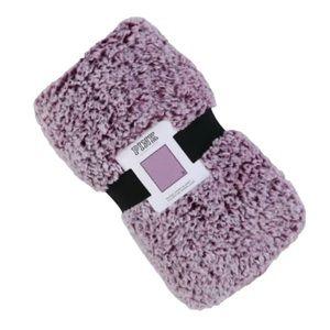NWT! Pink Victoria's Secret Washed Sherpa Blanket